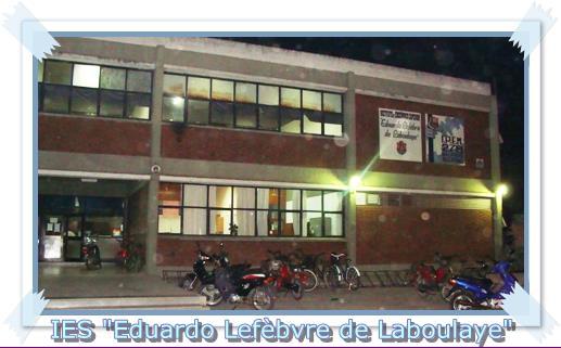 Frente del instituto